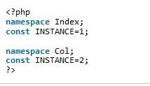 php的命名空间简单介绍