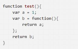 JavaScript闭包基础