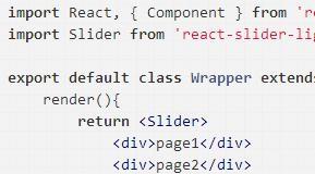 react轮播图组件react-slider-light详解