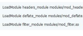 Linux中Apache设置压缩及缓存的方法实例