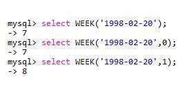 mysql常用日期与计算函数实例讲解