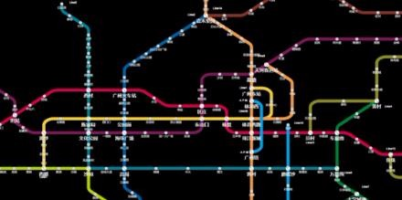 HTML5 Canvas的交互式地铁线路图实现代码