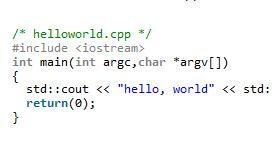 Linux下使用g++编译C++方法