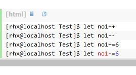 Linux数值运算:let,(()),[ ]详解