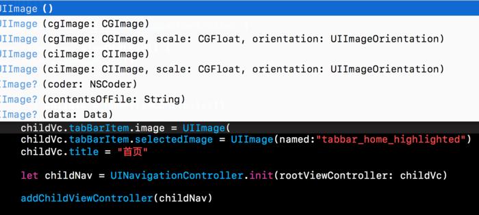 为什么在swift中构造函数不提示?