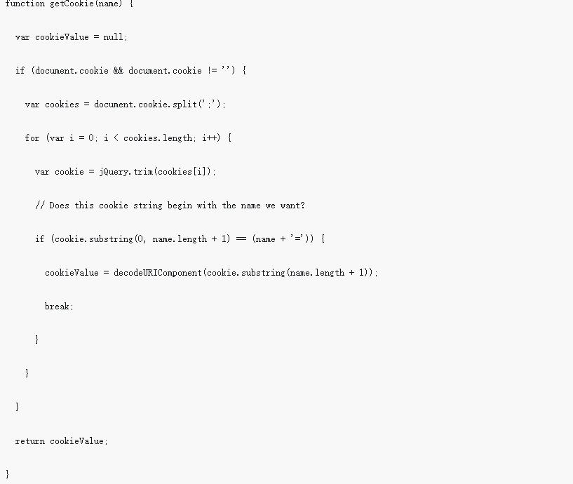 django中使用jquery ajax post数据出现403错误的解决办法