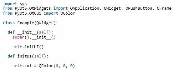 PyQt5每天必学之切换按钮_python