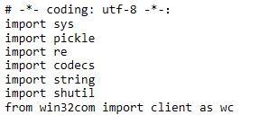 解决python大批量读写.doc文件的问题