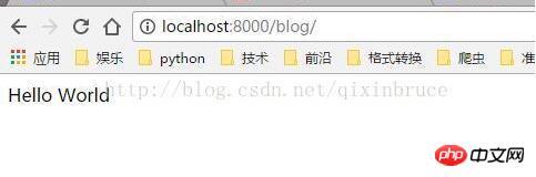 Django项目中包含多个应用时对url的配置方法
