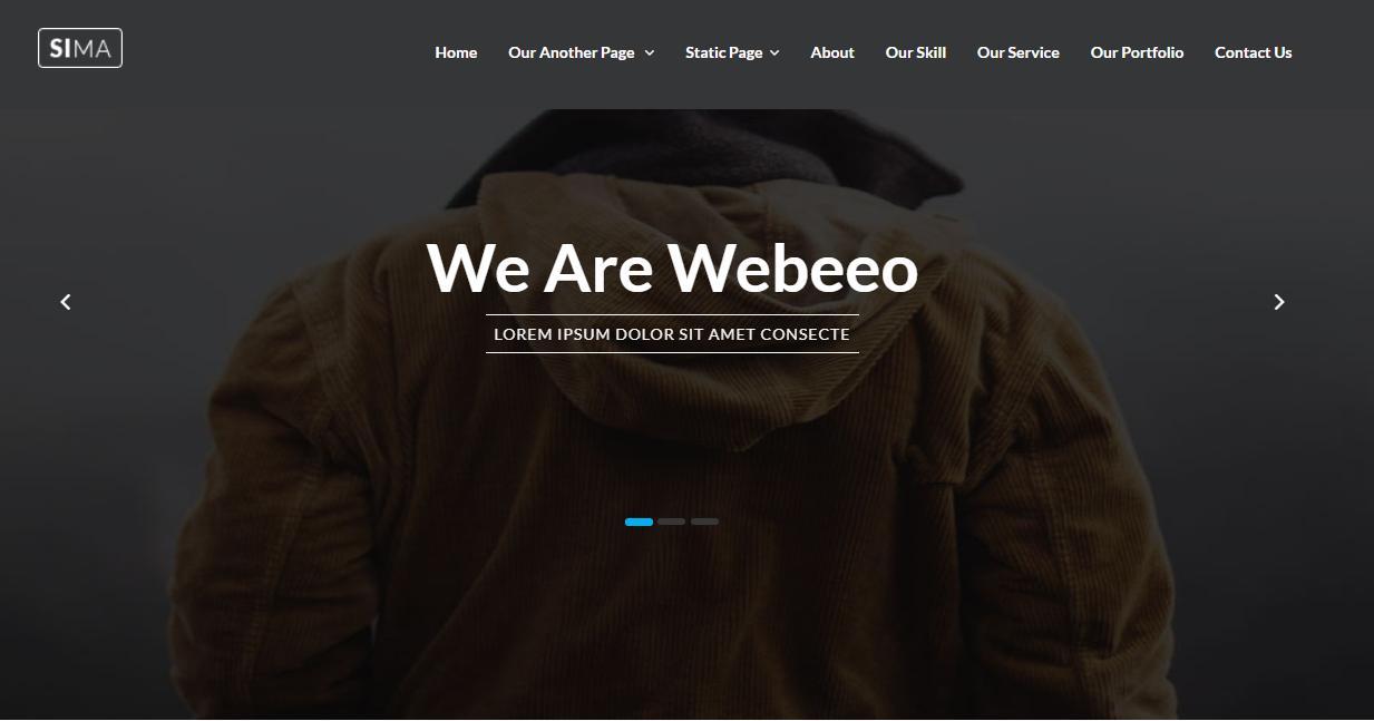 黄色设计响应式教育培训网站bootstrap模板