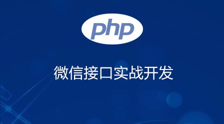 php微信接口开发实战项目视频教程 聊天机器人+微信支付