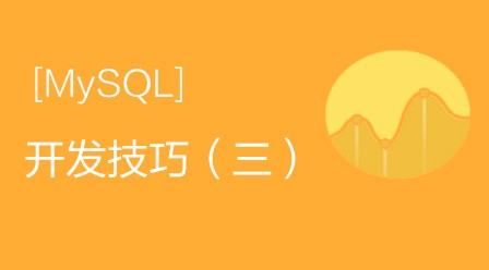 MySQL开发技巧(三)视频教程