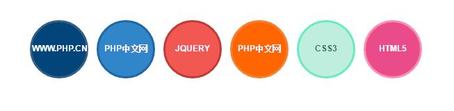 jQuery Tooltips悬停文字提示框效果
