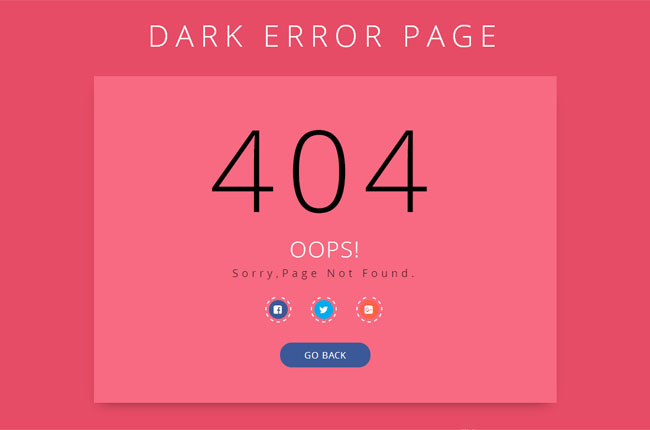 带分享按钮404页面丢失