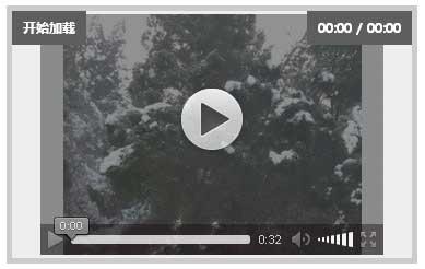 html5动态显示媒体视频播放器代码