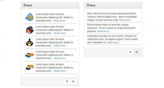jQuery實現新聞列表滾動特效代碼