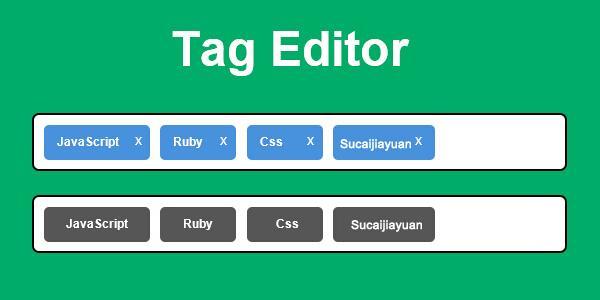 一款实用的jQuery标签输入插件