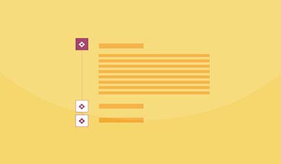 实用的CSS3垂直手风琴列表代码