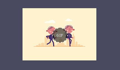 gif动态图片播放Facebook特效