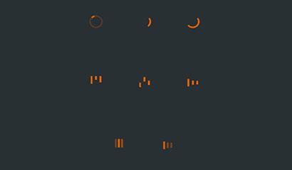 CSS3 SVG网页加载图标动画特效