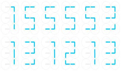 JS+CSS3实现时间日期特效