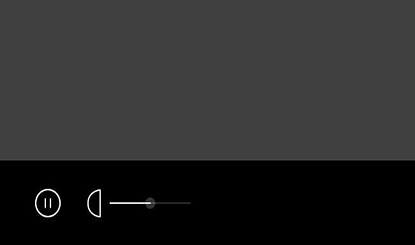 html5 svg手机播放器按钮动画特效