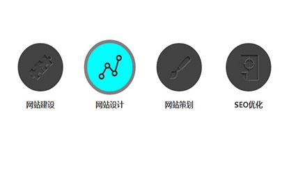 CSS3鼠标经过图标变色旋转特效