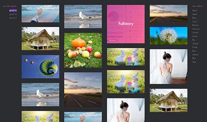 HTML5图片瀑布流带筛选功能代码