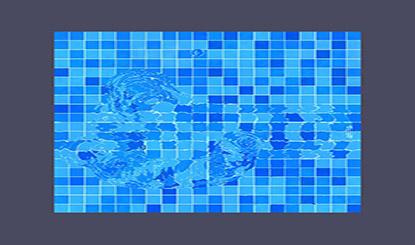 HTML5 Canvas水波紋特效