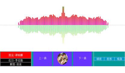 HTML5可视化mp3音乐播放器代码