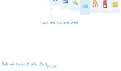 jQuery顶部自动隐藏菜单导航