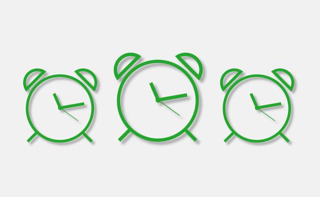 SVG时钟走时图标特效