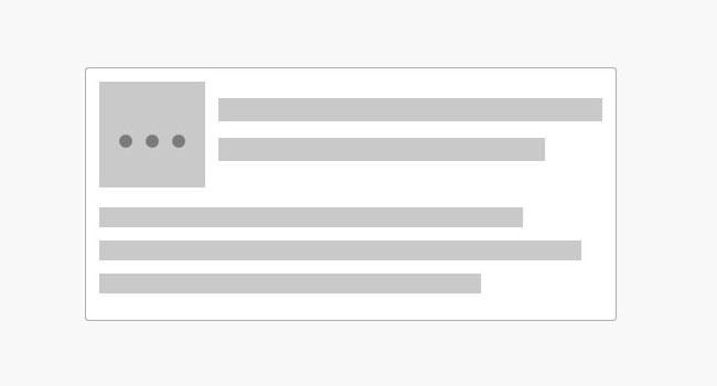 网页内容placeholder占位特效