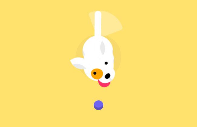 纯CSS3绘制摇尾巴的小狗特效