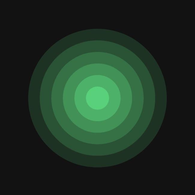 js+css3波纹催眠动画特效