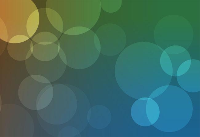 HTML5 Canvas气泡背景特效