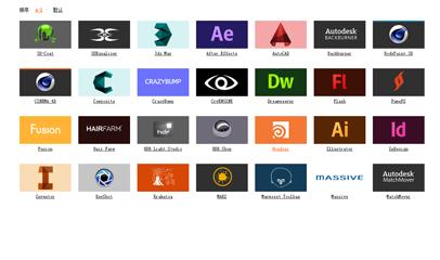 jQ品牌logo列表选项卡切换
