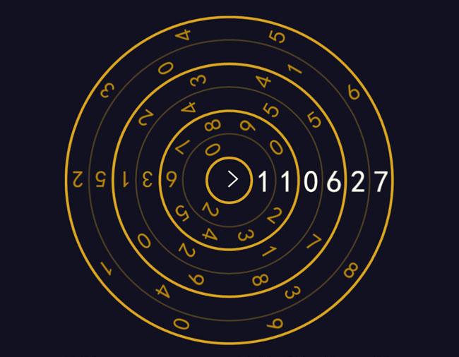 CSS3创意个性数字时钟动画特效