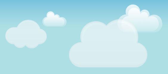 jQuery CSS3云朵飘动动画特效