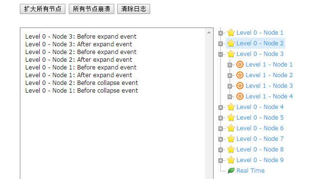 多级目录树型结构菜单js代码