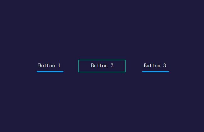 CSS3动画按钮导航菜单特效