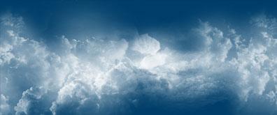 纯css3云彩动画效果