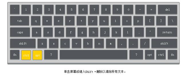JS网页键盘交互式代码