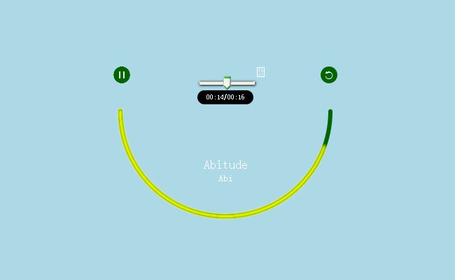 html5笑脸音乐播放器特效