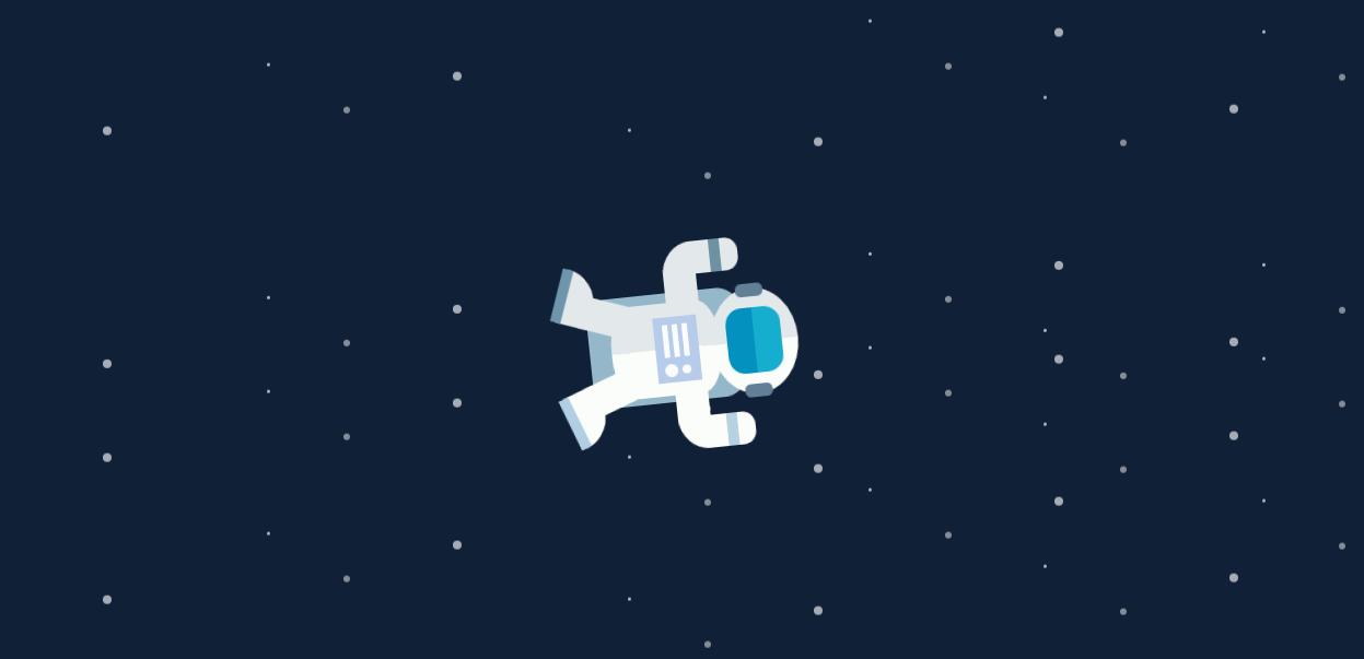 CSS3特效宇航员动画