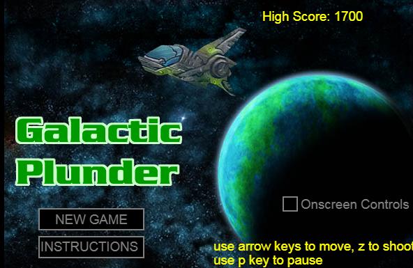 HTML做新飞机大战射击游戏代码