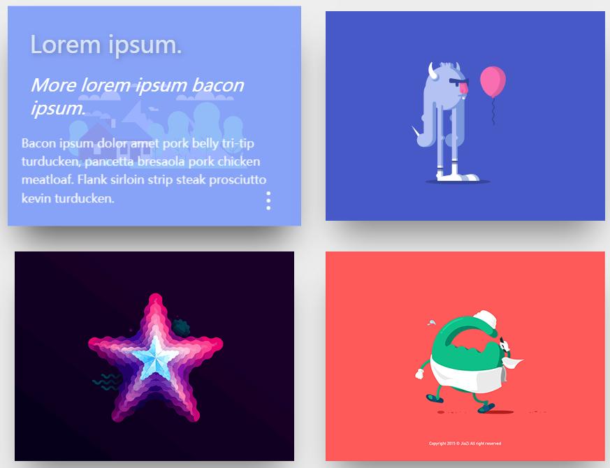 CSS3实现鼠标悬停图片显示文字动画特效