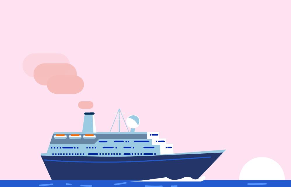 CSS3的海上邮轮动画效果
