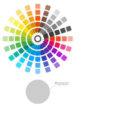 CSS3+SVG圆形色板交互式颜色选择拾取代码