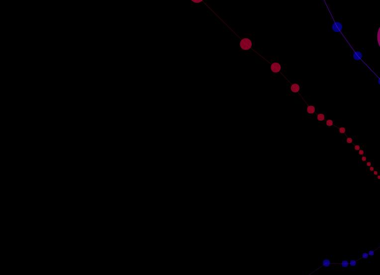 css3+HTML5 Canvas炫酷3D线条延伸动画特效